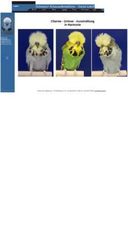 Vorschau der mobilen Webseite www.daniel-luetolf.ch, Schauwellensittichzucht