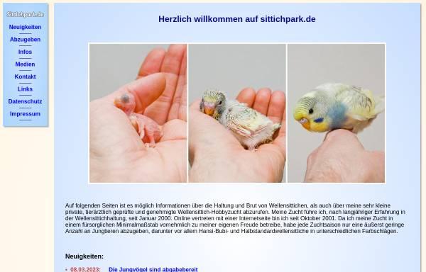 Vorschau von www.sittichpark.de, Sittichpark.de