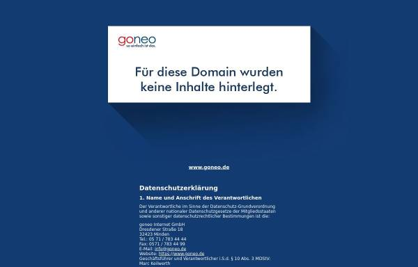 Vorschau von hallmann-modellbau.de, Hallmann-Modellbau, Detlev Hallmann