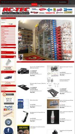 Vorschau der mobilen Webseite www.rc-tec.de, rc-tec.de, Bernd Mager