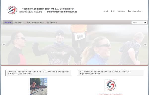 Vorschau von www.lav-husum.de, LAV Husum