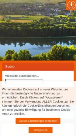Vorschau der mobilen Webseite www.blindheim.de, Die Schlacht von Blindheim/Höchstädt 1704