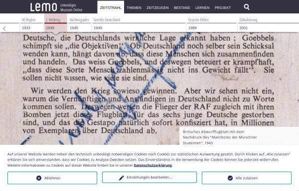 Vorschau von www.dhm.de, Weiße Rose