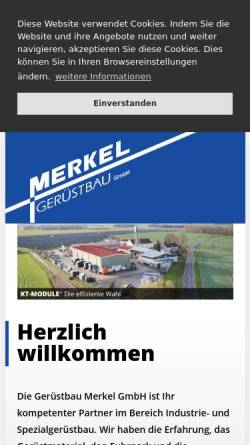 Vorschau der mobilen Webseite www.kt-module.com, G.M.B. KT-Modulgerüst GmbH