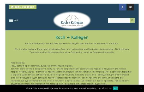 Vorschau von www.vet-ac.de, Tierarztpraxis Thomas Koch