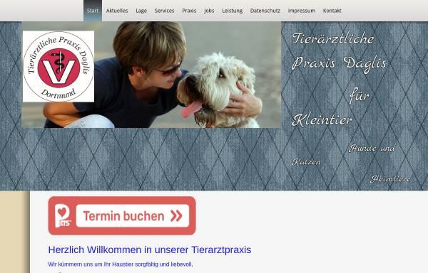 Vorschau von www.tierarztpraxis-daglis.de, Tierärztliche Praxis Daglis