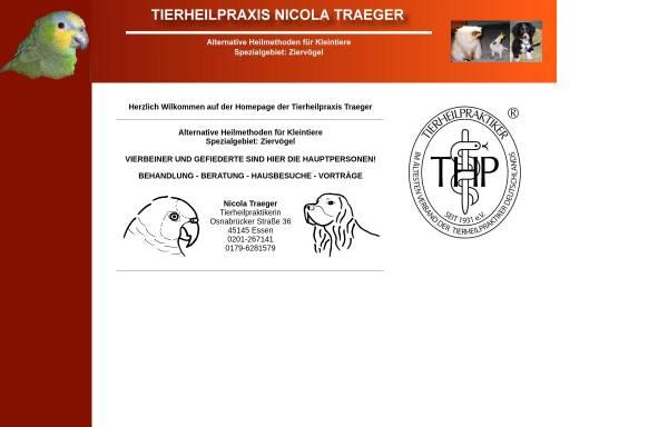 Vorschau von www.tierheilpraxis-traeger.de, Nicola Traeger, Tierheilpraxis