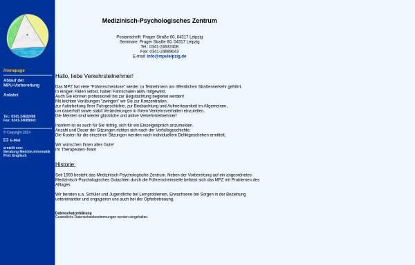 Vorschau von www.mpu-sachsen.de, Hannowski, Manfred, Dipl.-Päd.