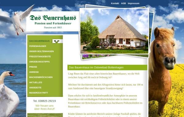 Vorschau von pension-das-bauernhaus.de, Pension Das Bauernhaus
