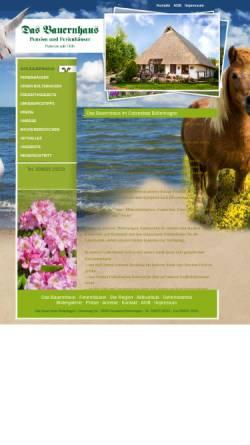 Vorschau der mobilen Webseite pension-das-bauernhaus.de, Pension Das Bauernhaus