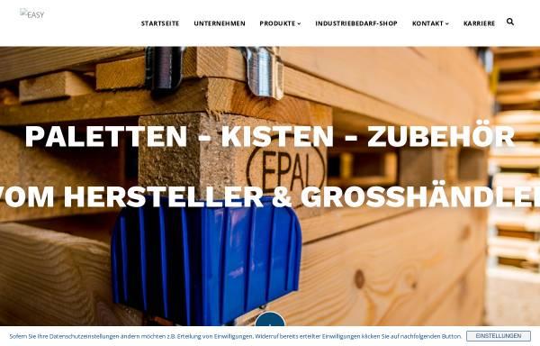 Vorschau von www.isi-paletten.de, ISI Transport- und Verpackungsmittel GmbH