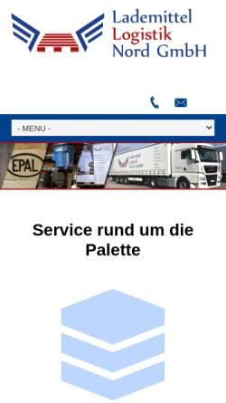 Vorschau der mobilen Webseite www.w-und-h.de, Wilhelm & Helfers Paletten, Inh. Burkhard Helfers