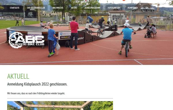 Vorschau von www.aegeribikeclub.ch, Aegeri Bike Club