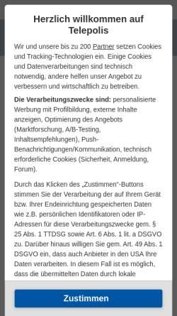 Vorschau der mobilen Webseite www.heise.de, Wikipedia sorgt für Weltwissen