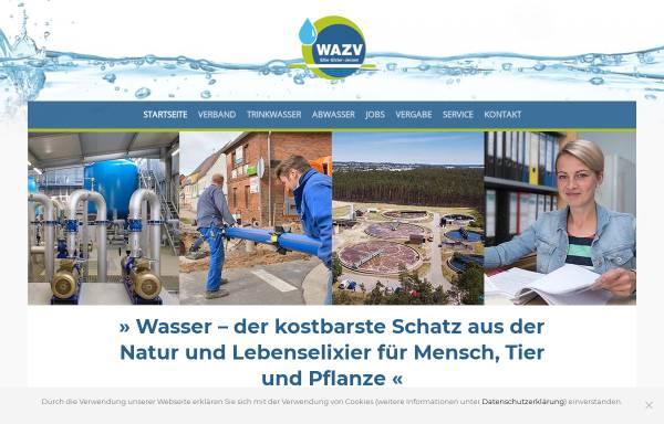 Vorschau von www.wazv-jessen.de, Wasser- und Abwasserzweckverband Elbe-Elster-Jessen