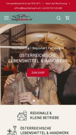 Vorschau der mobilen Webseite www.tankstellen.at, Verzeichnis Österreichischer Esso-Tankstellen
