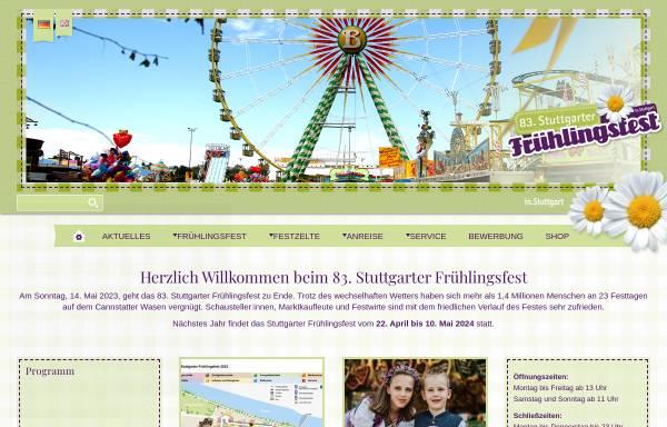 Vorschau von www.stuttgarter-fruehlingsfest.de, Stuttgarter Frühlingsfest