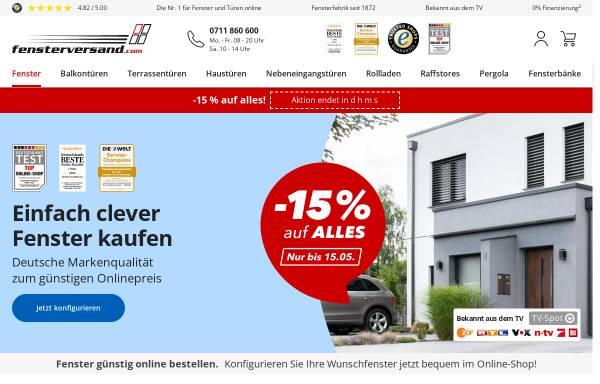 Vorschau von www.fensterversand.com, Neuffer Fenster + Türen GmbH