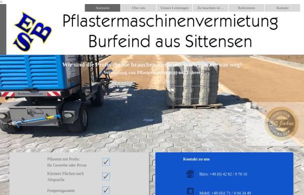 Vorschau von www.pflastermaschinenvermietung.de, Ulrich Burfeind e.K.