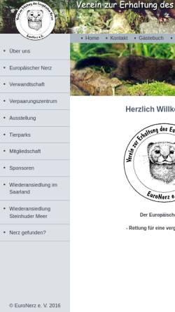 Vorschau der mobilen Webseite www.euronerz.de, EuroNerz e.V.