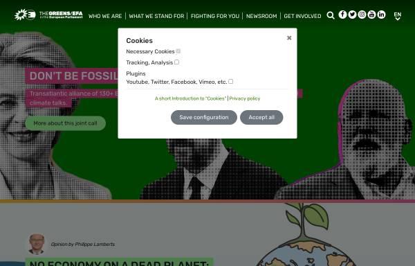 Vorschau von www.greens-efa.eu, Fraktion der Grünen-Freie Europäische Allianz