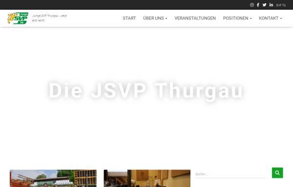Vorschau von www.jsvp-thurgau.ch, Junge SVP Thurgau
