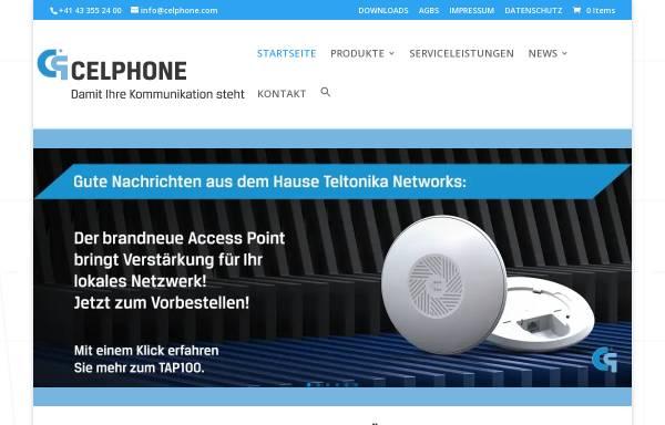 Vorschau von www.celphone.ch, Celphone Martin Girsberger GmbH