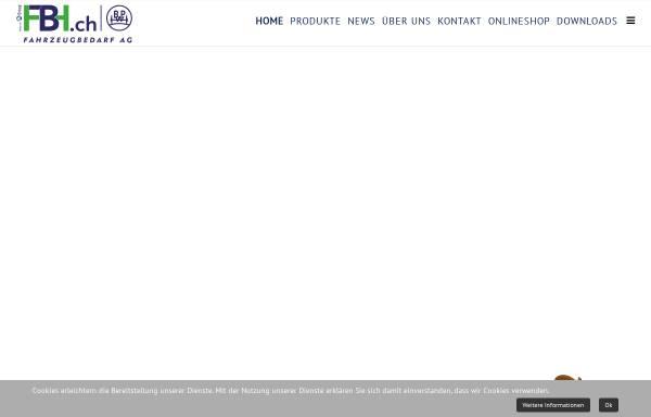 Vorschau von www.fbh.ch, Fahrzeugbau AG
