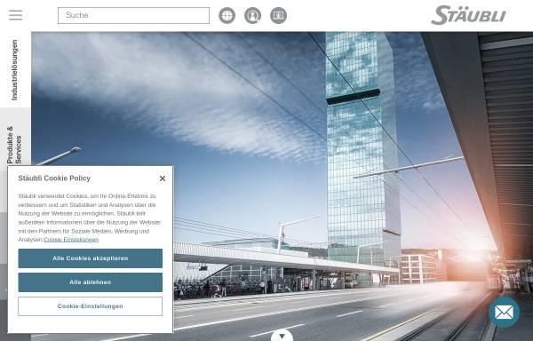 Vorschau von www.staubli-schweiz.ch, Stäubli AG