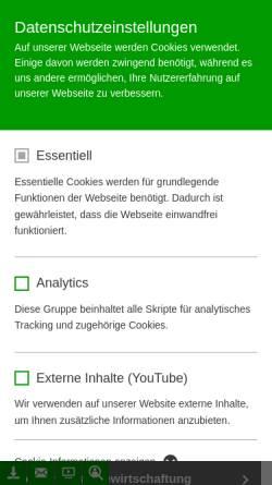 Vorschau der mobilen Webseite www.mall.info, Mall Abwassertechnik AG