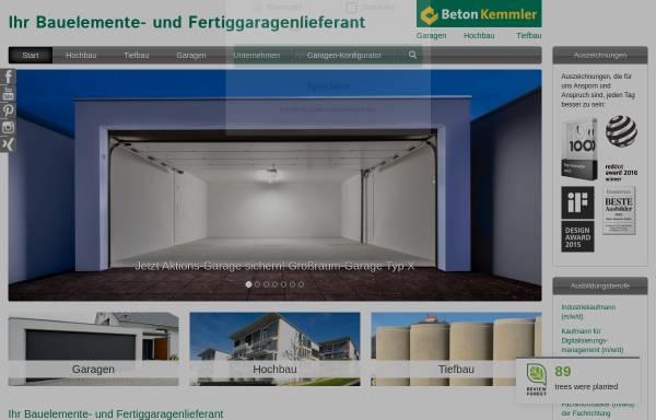 Kemmler Tübingen beton kemmler gmbh in tübingen bauteile und halbfabrikate beton