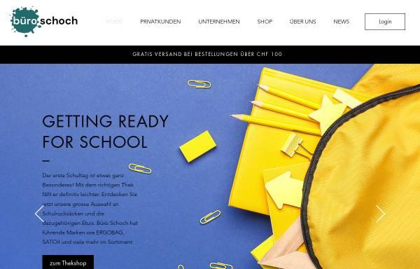 Vorschau von www.buero-schoch.ch, Büro Schoch AG