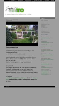 Vorschau der mobilen Webseite www.ottomauer.ch, System Otto GmbH