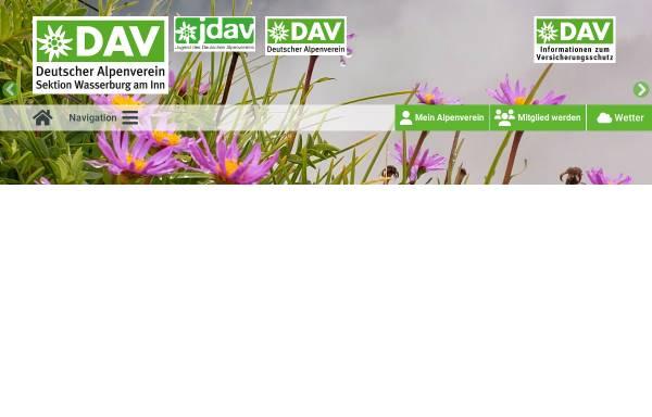 Dav Sektion Wasserburg Am Inn Deutschland Alpenvereine Alpenverein
