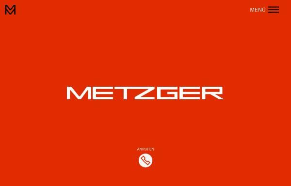 Vorschau von www.metzger.de, Metzger GmbH