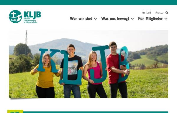 Vorschau von www.kljb-paderborn.de, KLJB Diöesanverband Paderborn