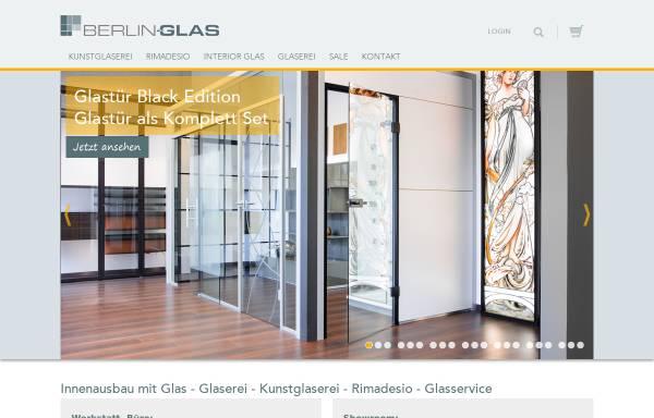Vorschau von www.berlin-glas.de, Berlin-Glas Mergner & Speidel OHG Glasbau und Glaserei