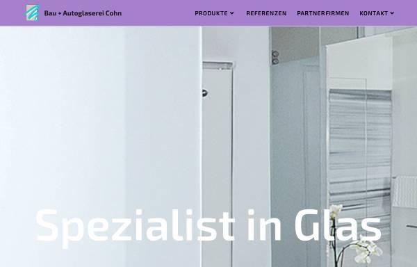 Vorschau von www.cohn-glas.de, Glaserei - Günter Cohn GmbH