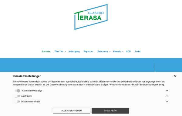 Vorschau von www.glaserei-terasa.de, Glaserei Terasa