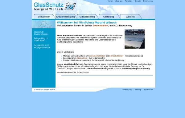 Vorschau von www.glasschutz.de, GlasSchutz - Margrit Wünsch