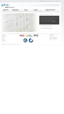 Vorschau der mobilen Webseite www.ipb.de, I/P/B/ Internet Provider in Berlin GmbH