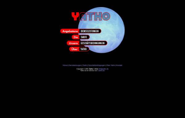 Vorschau von www.yatho.com, Yatho Webhosting