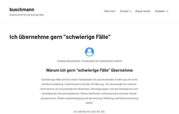 Vorschau von www.anderfuhr-buschmann.de, Buschmann Andreas