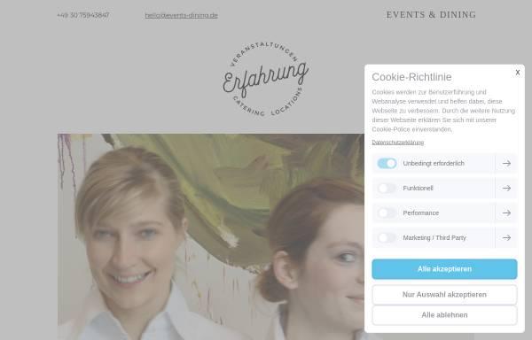 Vorschau von www.events-dining.de, Events & Dining Berlin