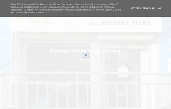 Vorschau von www.berliner-seewasser-center.de, Berliner-Seewasser-Center