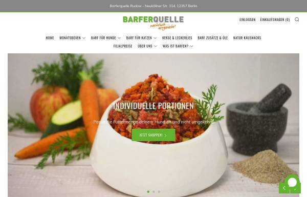 Vorschau von www.futter-quelle.de, Moni´s Futter-Quelle