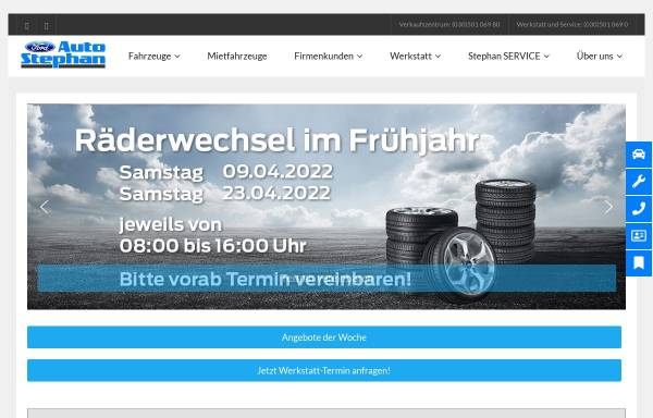 Vorschau von www.auto-stephan.de, Auto Stephan KG