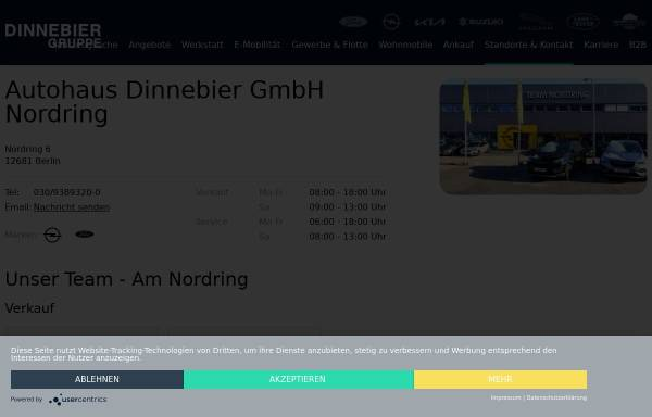 Vorschau von www.amnordring.de, Autohaus Nordring GmbH