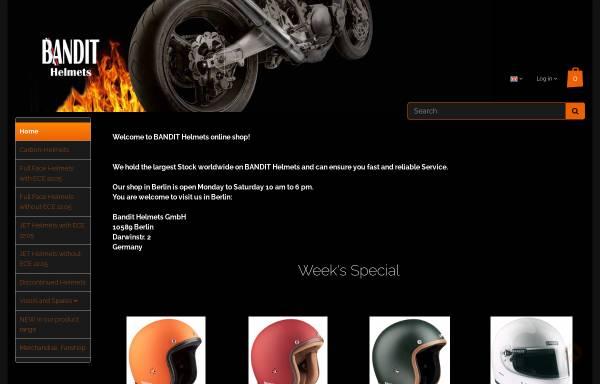 Vorschau von www.motorbike.de, Bandit Helme GmbH Berlin