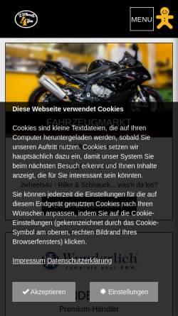 Vorschau der mobilen Webseite www.pevec.de, Pevec - BMW Motorrad Vertragshändler